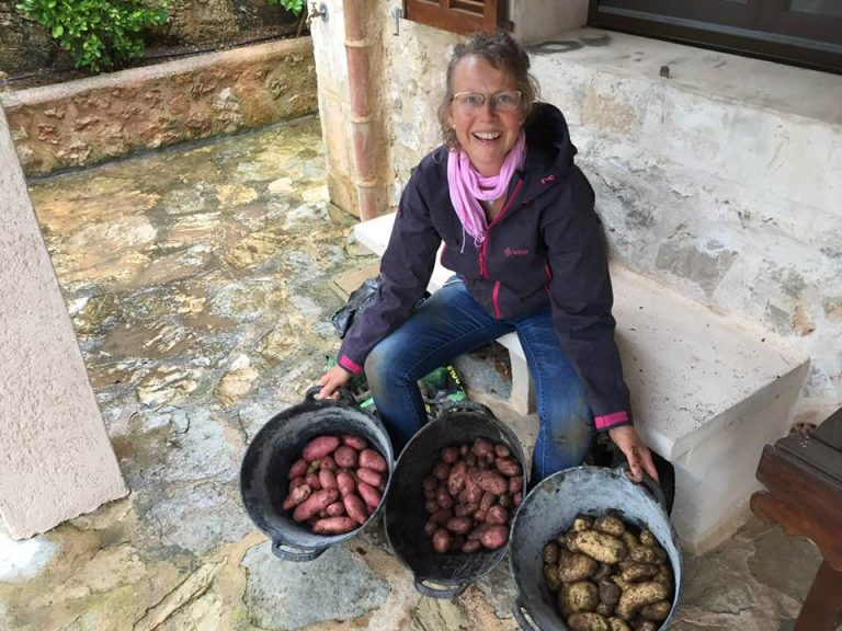 Groentetuin Living Miracles, Mallorca