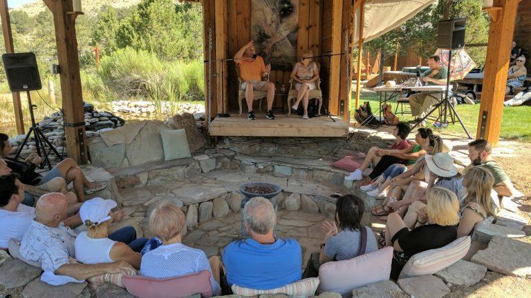Sessie met David, Living Miracles Monastery (Utah)