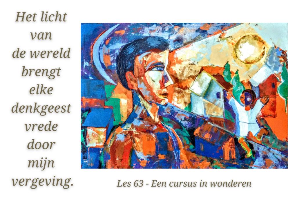 Een cursus in wonderen werkboek les 63