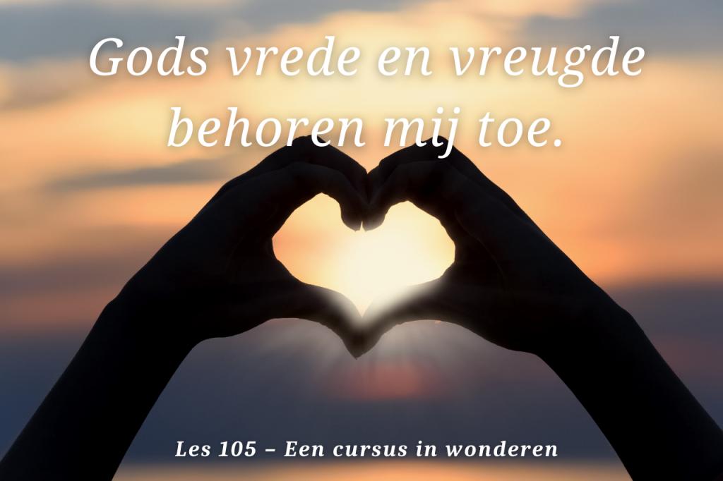 Een cursus in wonderen les 105